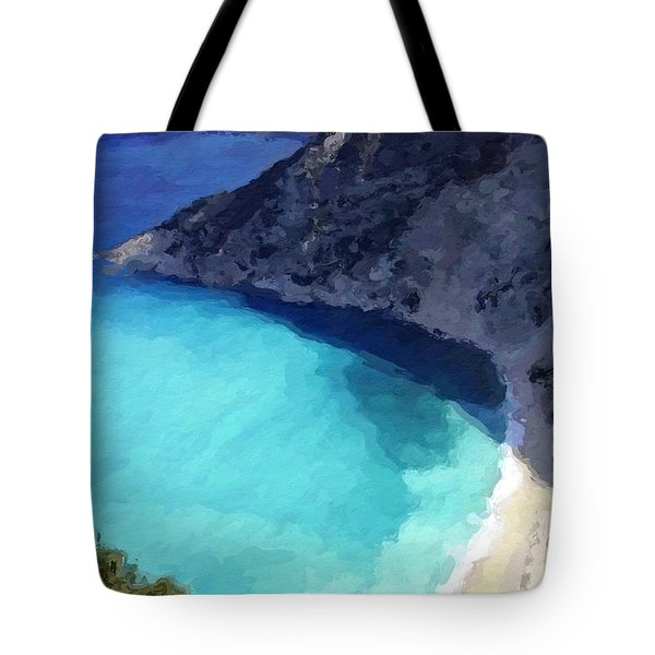 Paradise Cove Tote Bag by Anthony Fishburne