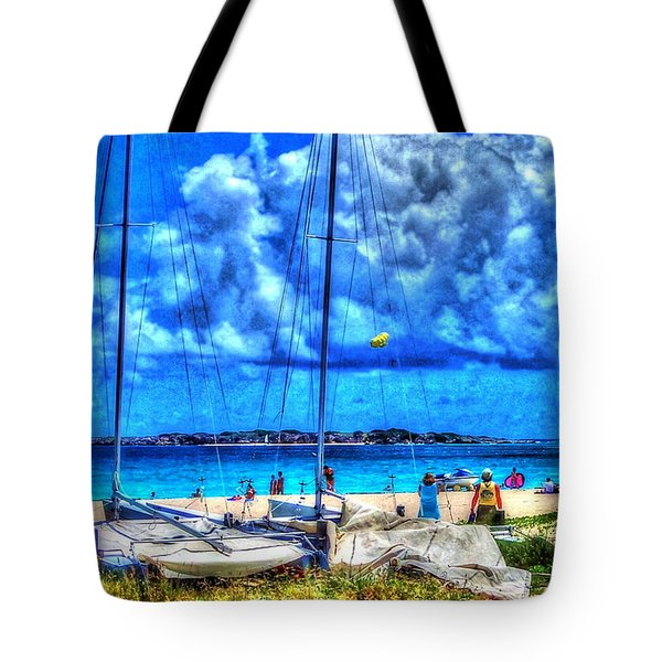 Paradise Tote Bag by Debbi Granruth