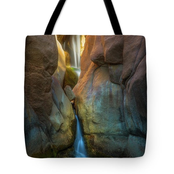 Tote Bag featuring the photograph Paradise Falls by Darren White