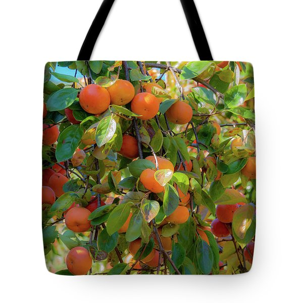 Paradise For Persimmons Tote Bag