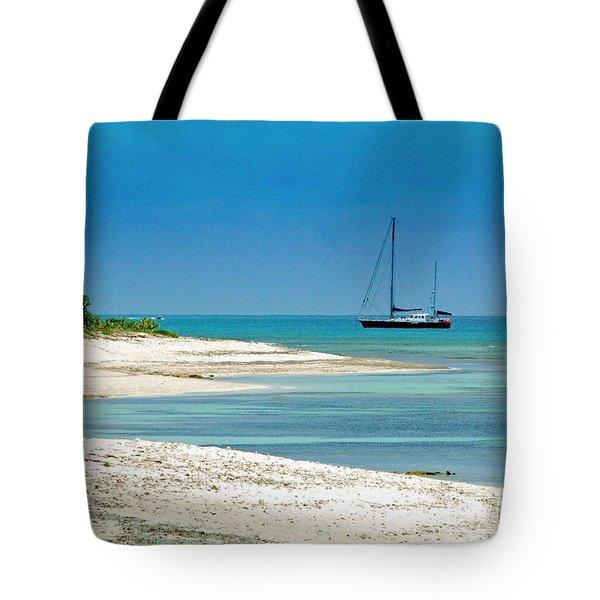 Paradise Found Tote Bag by Debbi Granruth