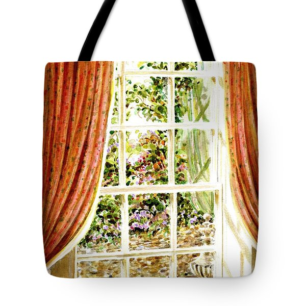 Tote Bag featuring the painting Paradise House In Bath England by Dee Davis