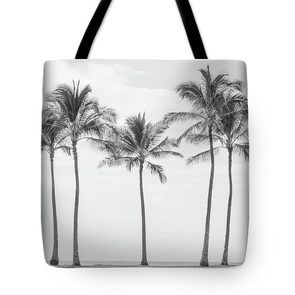 Paradise In Black And White II Tote Bag