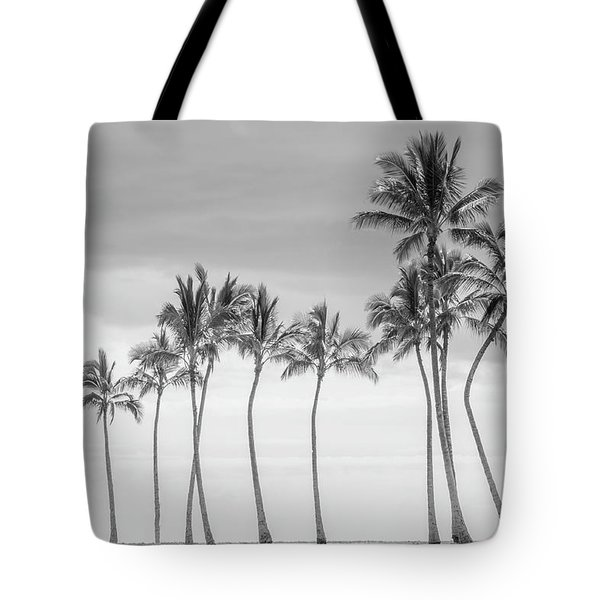 Paradise In Black And White Tote Bag