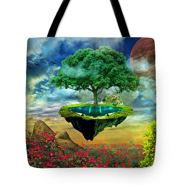 Paradise Island Tote Bag by Ally White