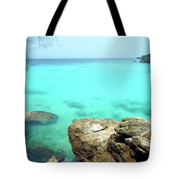 Tote Bag featuring the photograph Paradise Island, Curacao by Kurt Van Wagner