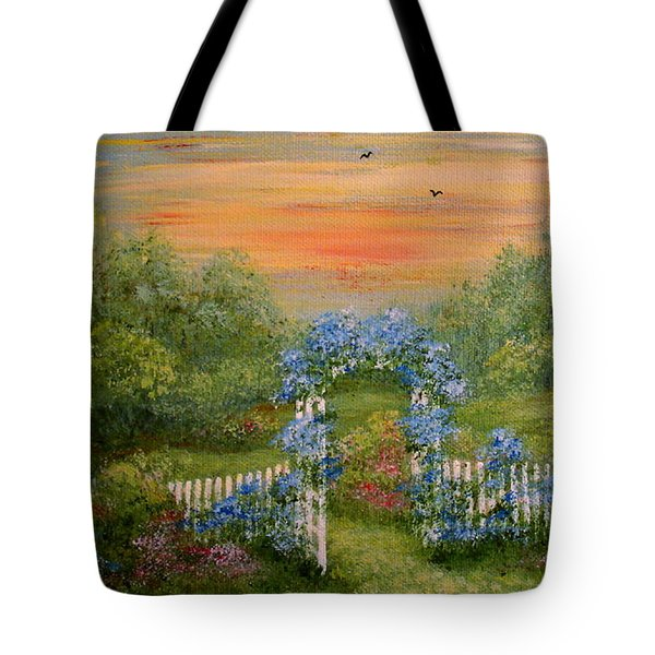 Paradise Tote Bag by Leea Baltes