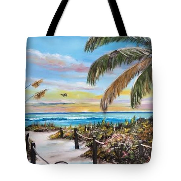 Paradise Tote Bag by Lloyd Dobson