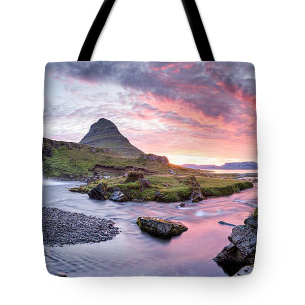 Paradise Lost - Large Panorama Tote Bag