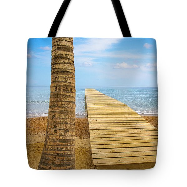 Paradise Tote Bag by Marlo Horne
