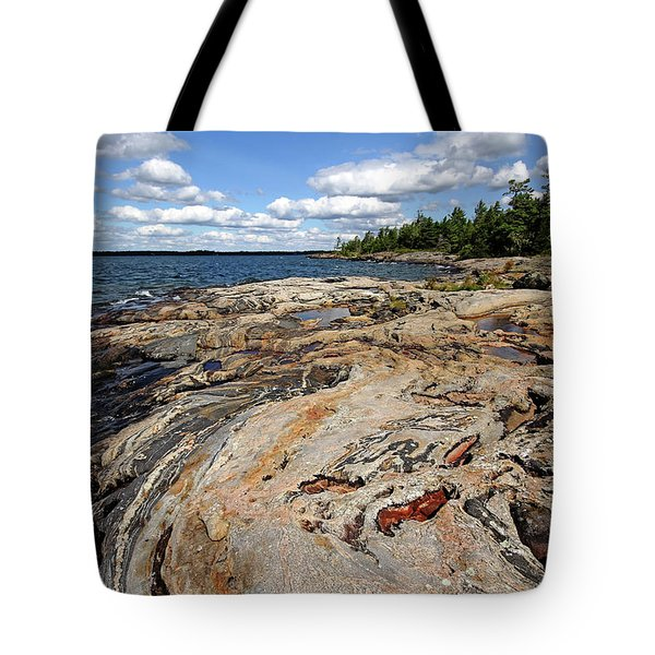 Paradise On Wreck Island Tote Bag