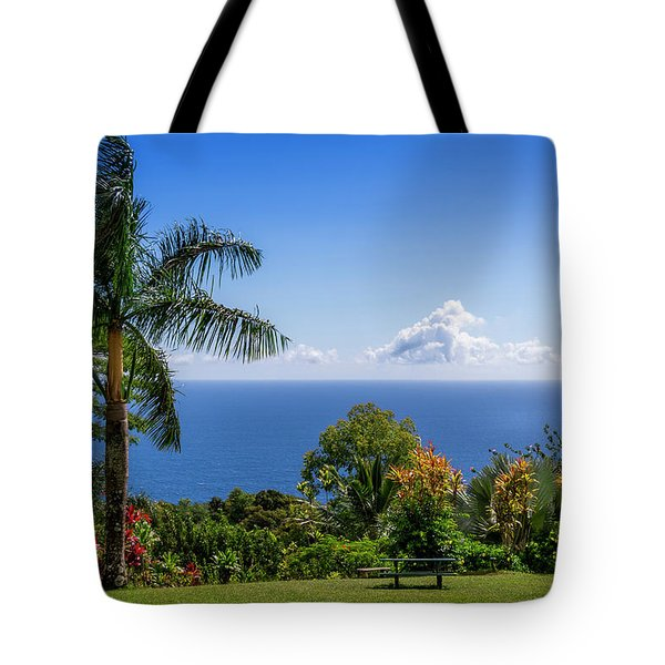 Paradise Picnic Tote Bag