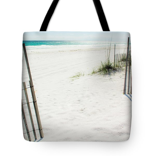 Paradise Scenery Tote Bag by Shelby  Young