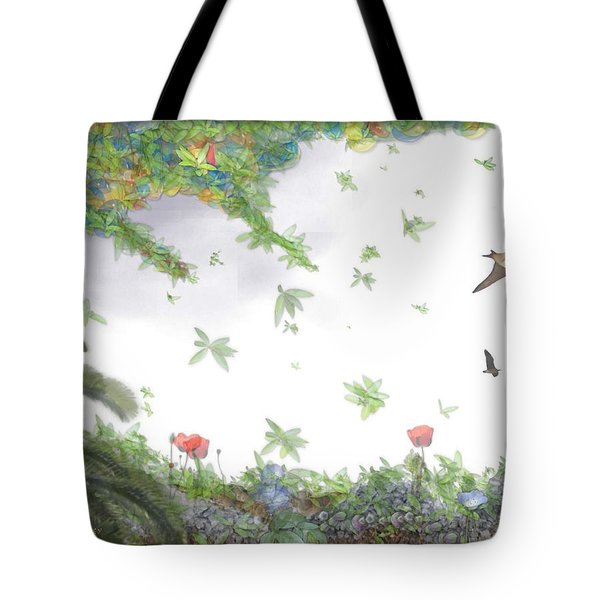 Paradise Without War Tote Bag