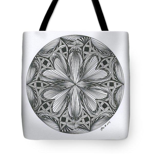 Paradoxical Zendala Tote Bag