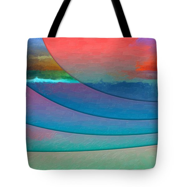 Parallel Dimensions - Submerged Tote Bag by Serge Averbukh
