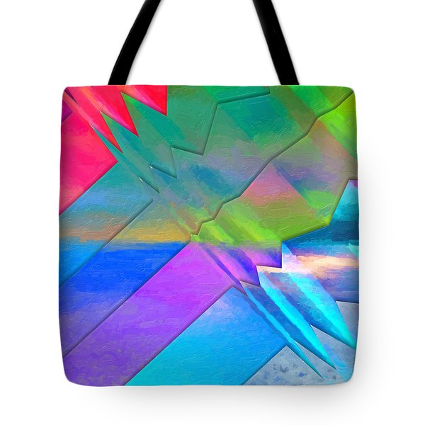 Parallel Dimensions - The Multiverse Tote Bag by Serge Averbukh