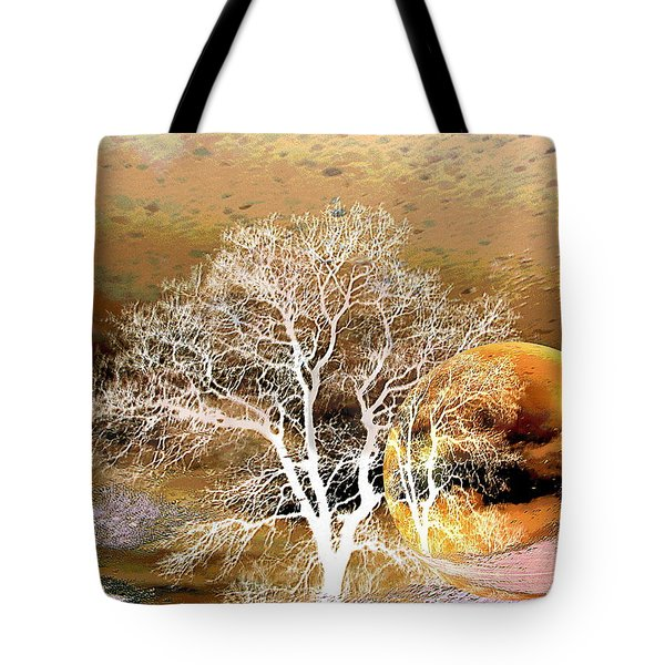 Tote Bag featuring the photograph Parallel Worlds by Joyce Dickens