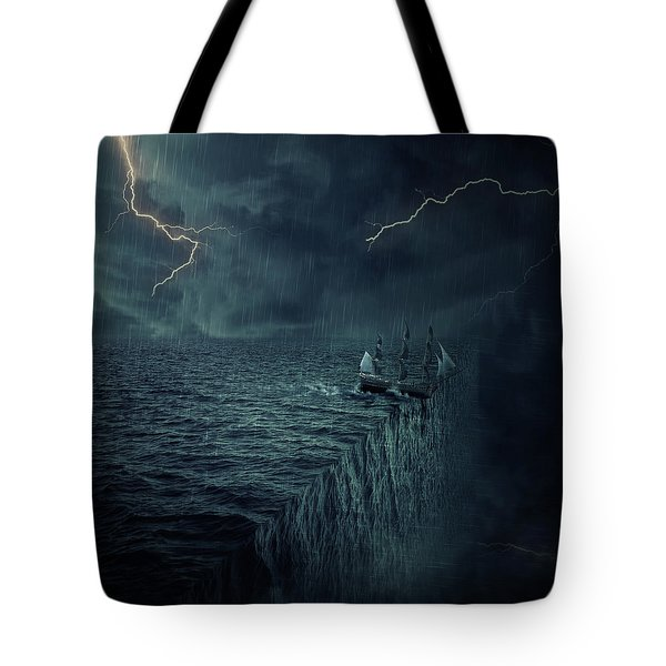 Parallelism Tote Bag by Psycho Shadow