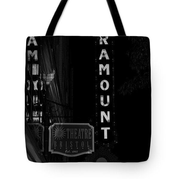 Paramount Marquee Bristol Tennessee Tote Bag