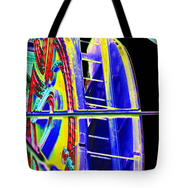 Paramount Theater Detail Tote Bag by Tim Allen