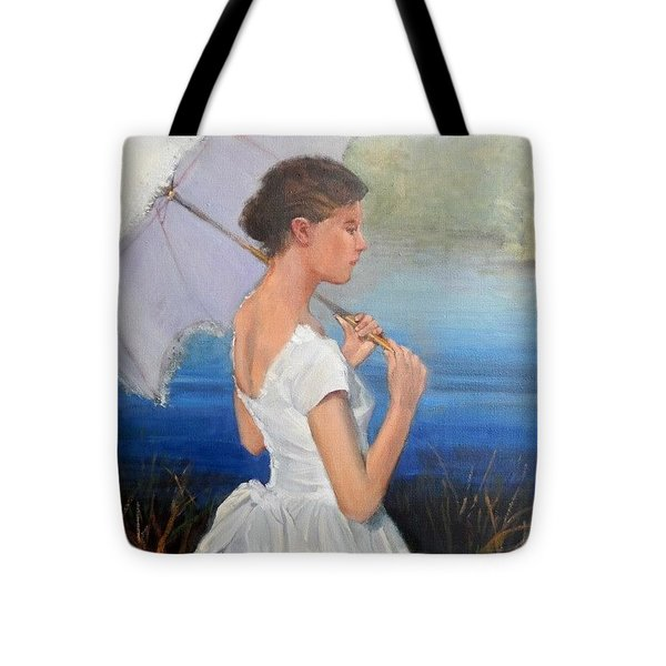 Parasol Tote Bag by Ron Wilson