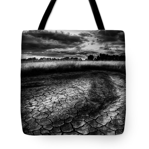 Tote Bag featuring the photograph Parched Prairie by Dan Jurak