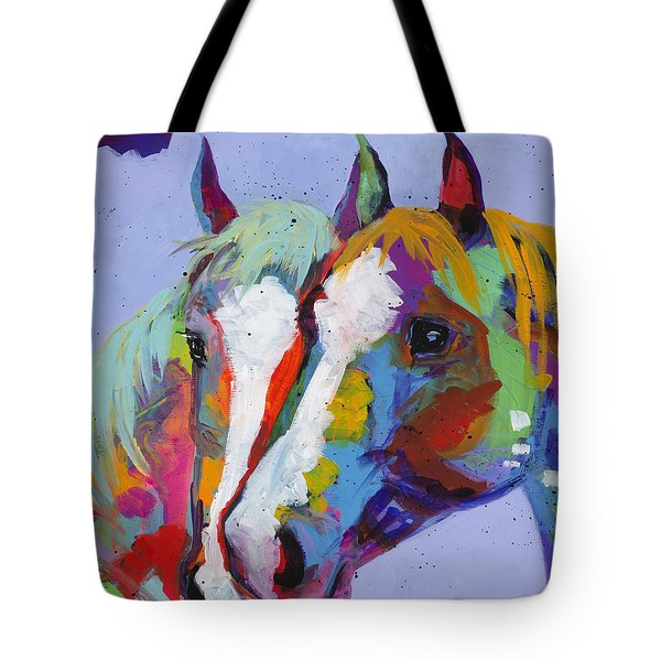 Pardners Tote Bag by Tracy Miller