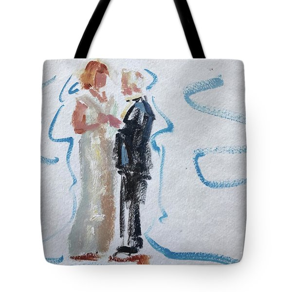 Parents Of The Bride Tote Bag
