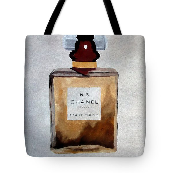Parfum No.5 Tote Bag