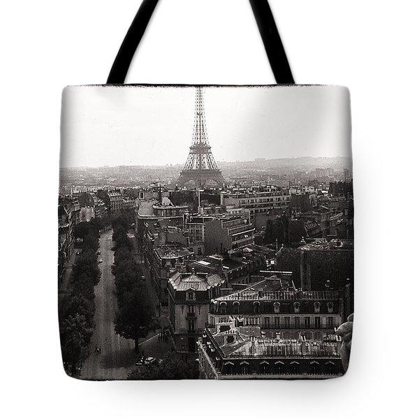 Paris 1966 Tote Bag by Steve Archbold