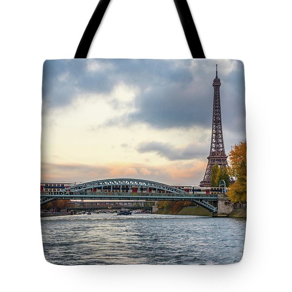 Paris 3 Tote Bag
