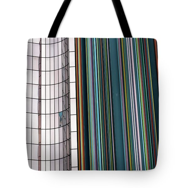 Paris Abstract Tote Bag