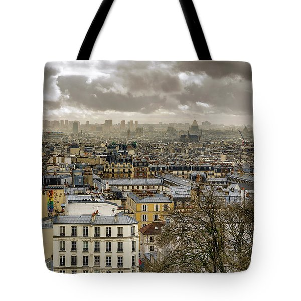 Paris As Seen From The Sacre-coeur Tote Bag