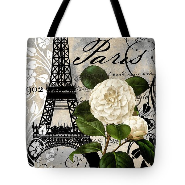 Paris Blanc I Tote Bag by Mindy Sommers