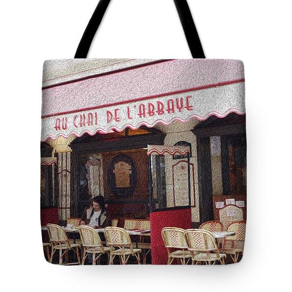 Paris Cafe 1 Tote Bag