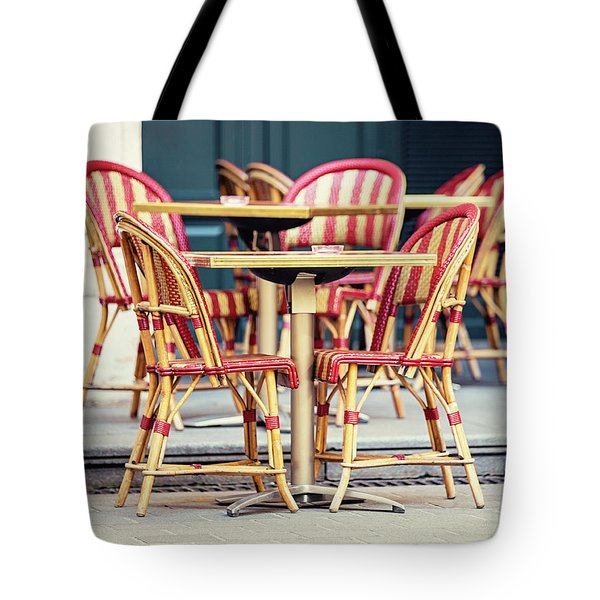 Paris Cafe - Paris, France Tote Bag by Melanie Alexandra Price