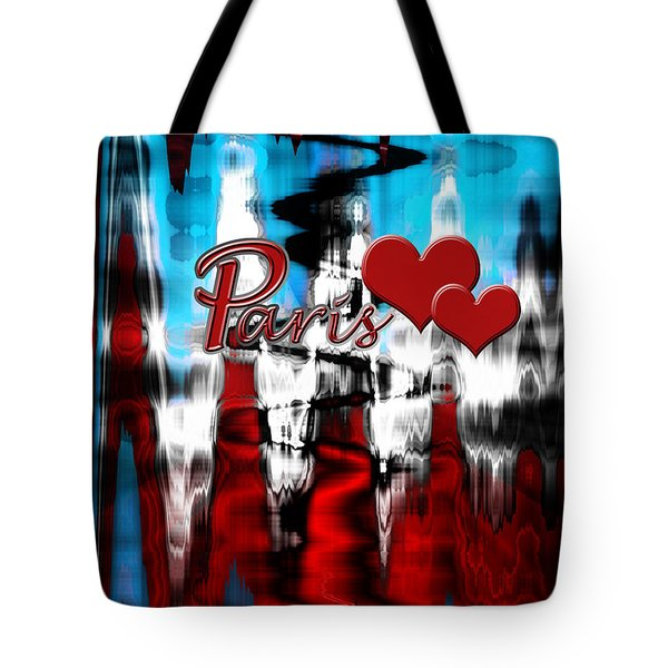 Paris Tote Bag by Cherie Duran
