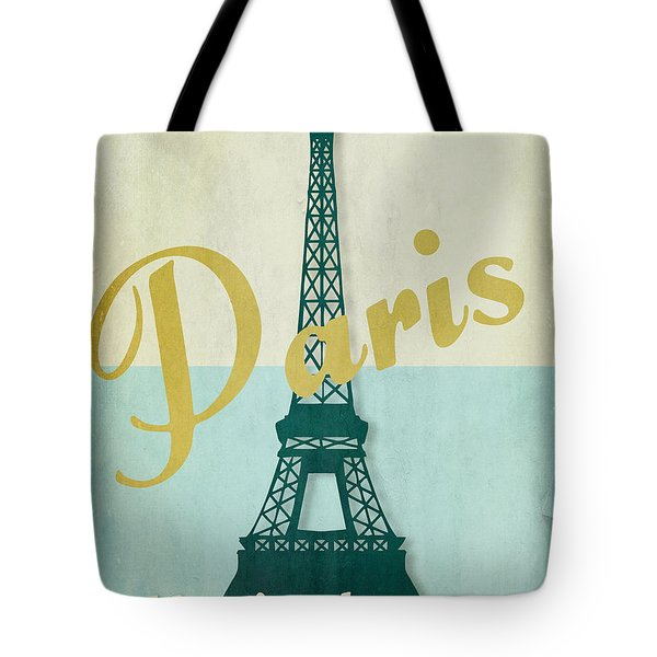 Paris City Of Light Tote Bag