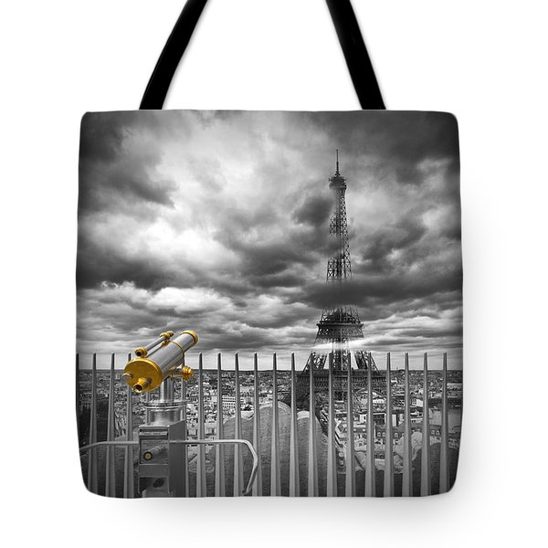 Paris Composing Tote Bag