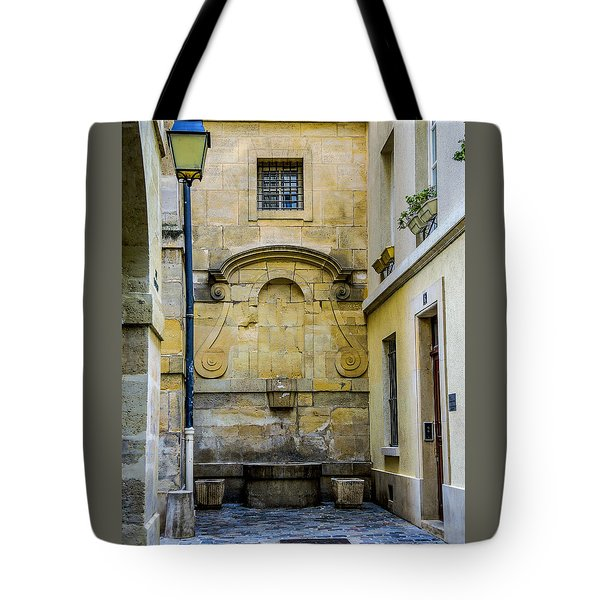 Paris Corner Le Marais Tote Bag by Sally Ross