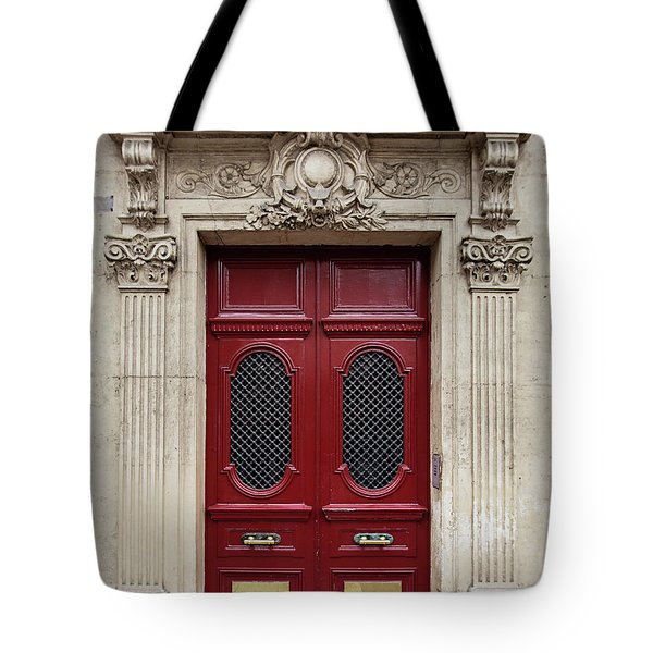 Paris Doors No. 17 - Paris, France Tote Bag