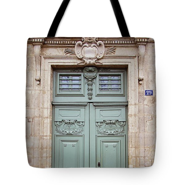 Paris Doors No. 29 - Paris, France Tote Bag