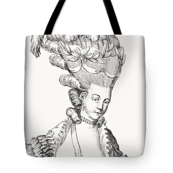 Paris Fashion, 1776 Tote Bag
