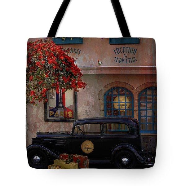 Paris In Spring Tote Bag