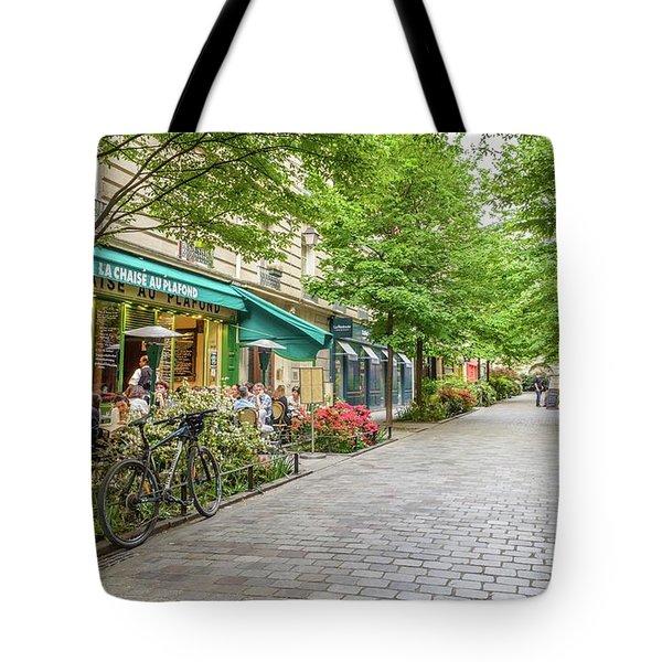 Paris In The Spring  Tote Bag