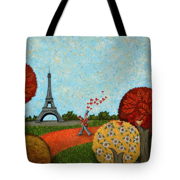 Paris Je T Aime Tote Bag