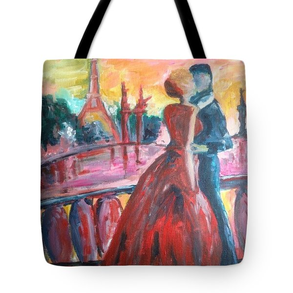 Paris Lovers Tote Bag