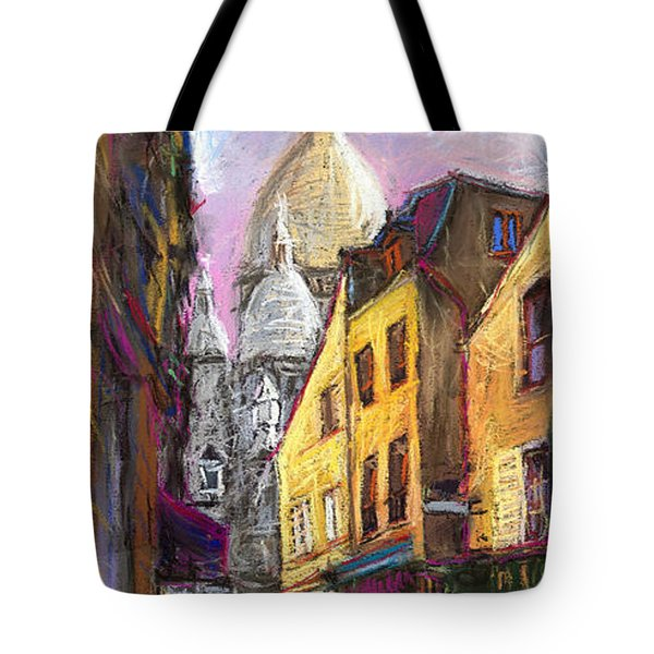 Paris Montmartre 2 Tote Bag by Yuriy  Shevchuk