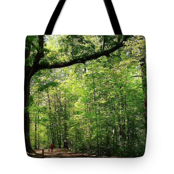 Paris Mountain State Park South Carolina Tote Bag